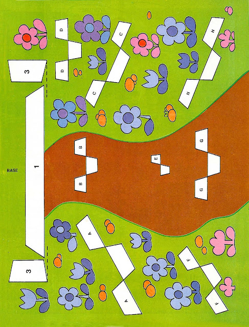 f9548245273 Recortable portal de Belen con maqueta