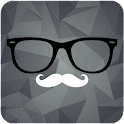 Hipster Clock - UCCW Skin icon