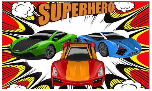 3D Superhero Racing