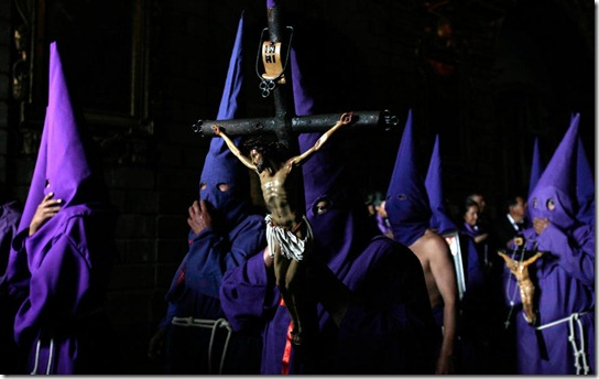APTOPIX Ecuador Holy Week