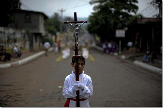 EL SALVADOR-RELIGION-HOLY-WEEK