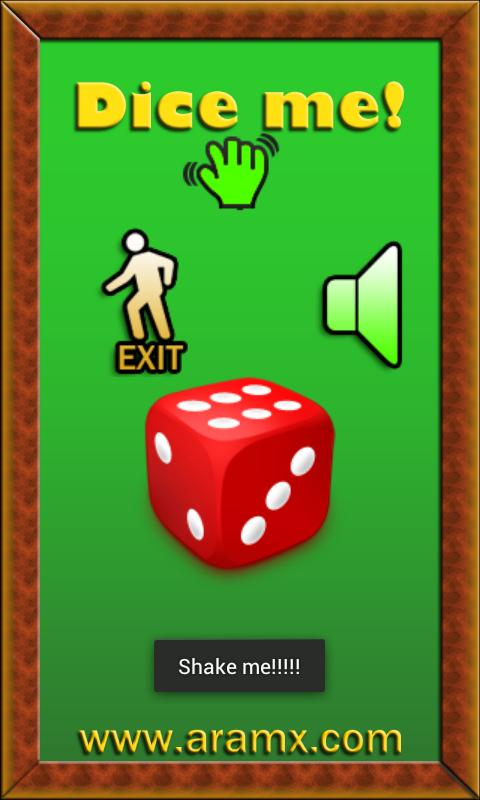 Dice Me - screenshot