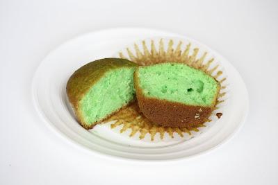 photo of one pandan cake