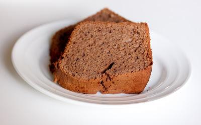 close-up photo of slices of sponge cake