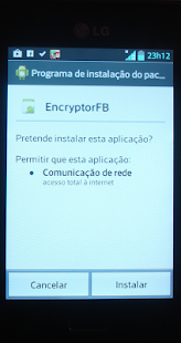 Facebook Status Encrypt - screenshot thumbnail