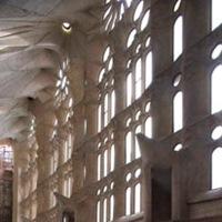 Sagrada Familia en Barcelona ventanas