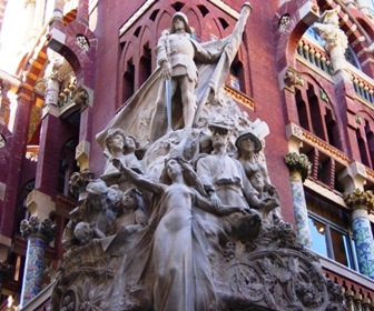 Detalle-de-fachada-Palau-de-musica-ornamentacion