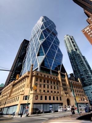 arquitecto-Norman-Foster-obra-Hearst Tower, Nueva York, EE.UU
