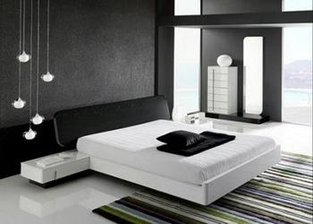 decoracion-minimalista-habitacion-sobriedad, formas puras