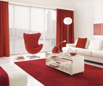 Tips de Decoración con cortinas de colores