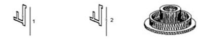 autocad 3D sólidos por comando Revolve