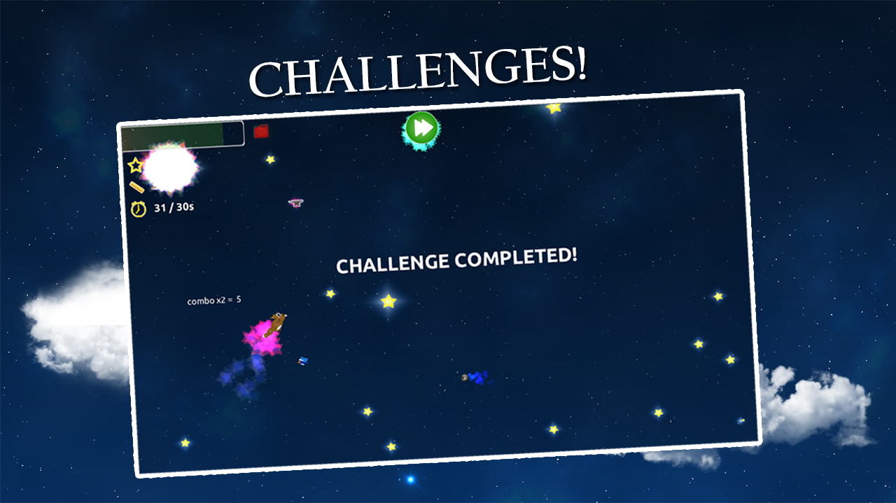 Falling Stars Free - screenshot