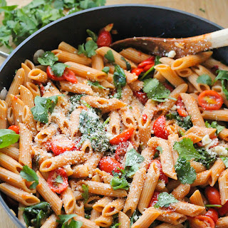 Pasta With Fire Roasted Tomatoes Recipes.