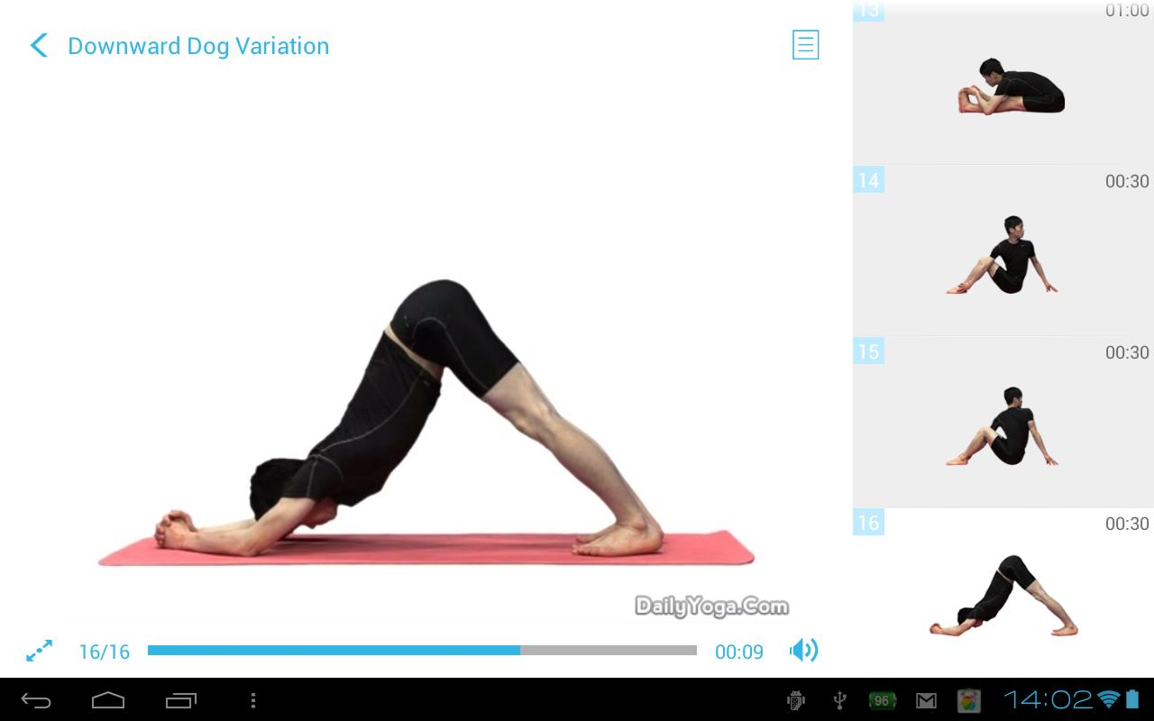 Daily Yoga for Back - screenshot