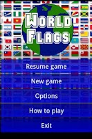 Screenshot of Flags Of The World Demo