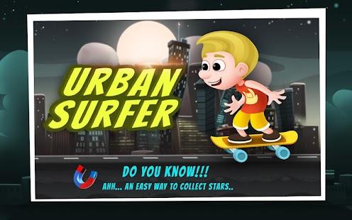 都市衝浪 - 滑板少年