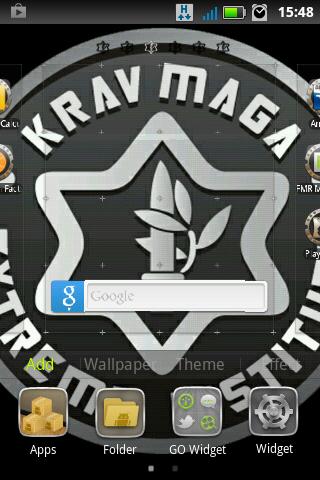 Krav Maga Go Launcher Ex Theme