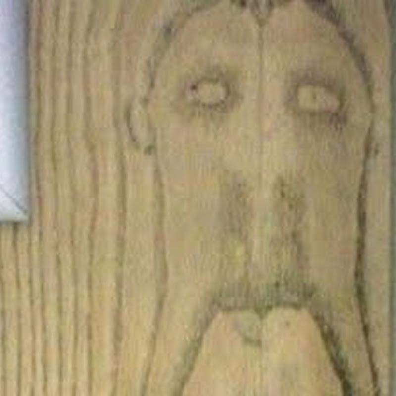 Aparece el rostro de Jesús en un baño de Ikea