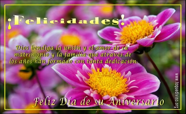 Mensajes De Feliz Aniversario Cristiano: Tarjetas Cristianas Para Felicitar El Aniversario De Bodas