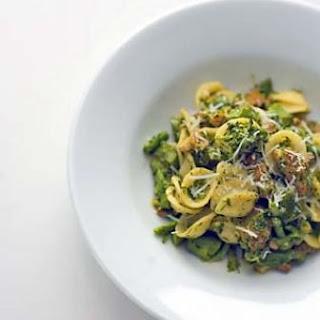 Orecchiette with Broccoli Rabe & Spicy Sausage