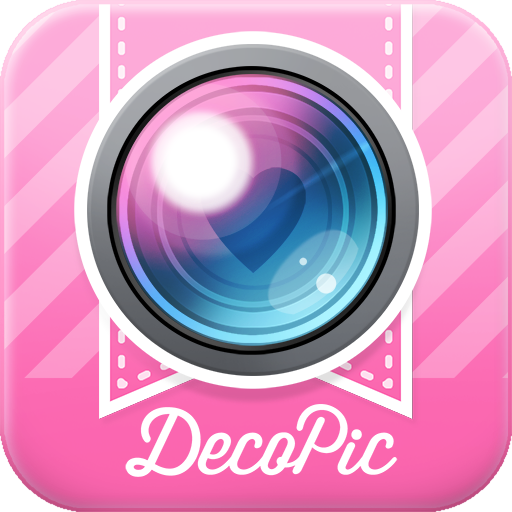 DECOPIC,Kawaii PhotoEditingApp app (apk) free download for Android/PC/Windows