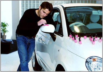 Pink Nail Varnish for FIAT
