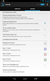 Quickly Notification Shortcuts Screenshot 16