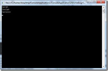 LINQ を使って差集合を取得する