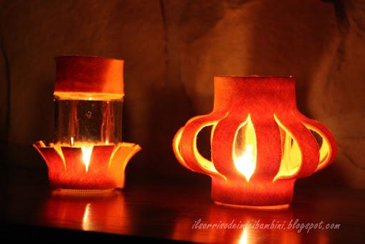 Popolare Il Sorriso dei miei Bambini: Lanterne di feltro GO44
