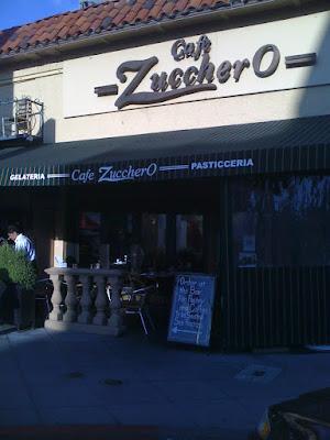 Cafe Zucherro- gelato and desserts!
