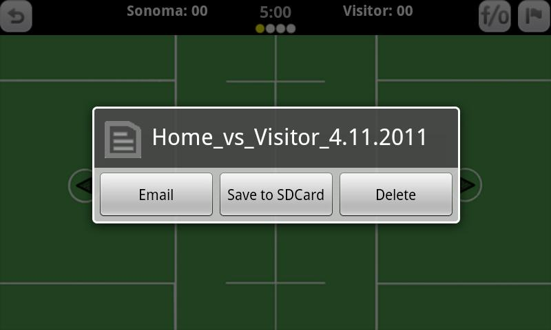 GameDay Stats - Lacrosse - screenshot