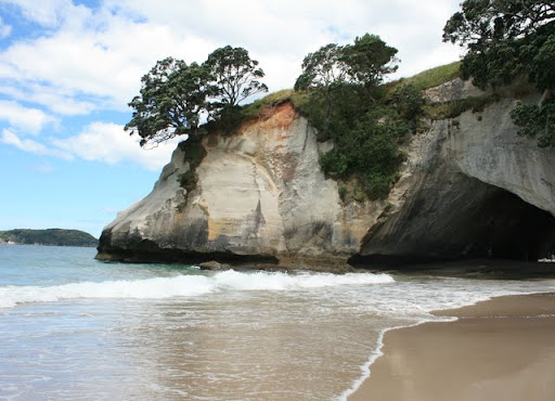 cathedral cove - plaża