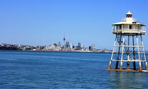 Auckland z promu