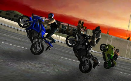 Race Stunt Fight! Motorcycles Screenshot 1
