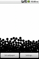 Screenshot of fluidsim live wallpaper (free)