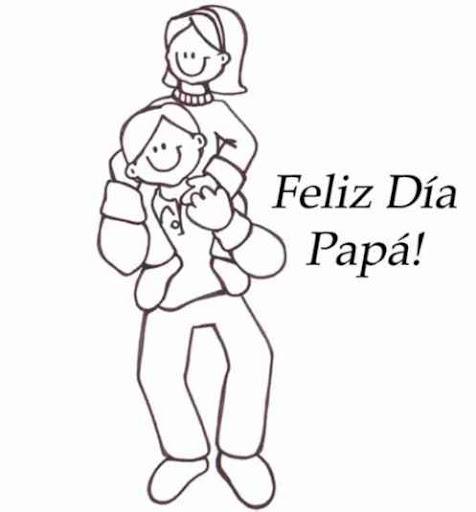 Dia Del Padre Dibujos Para Colorear Dia Del Padre