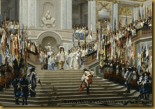 Réception du Grand Condé par Louis XIV
