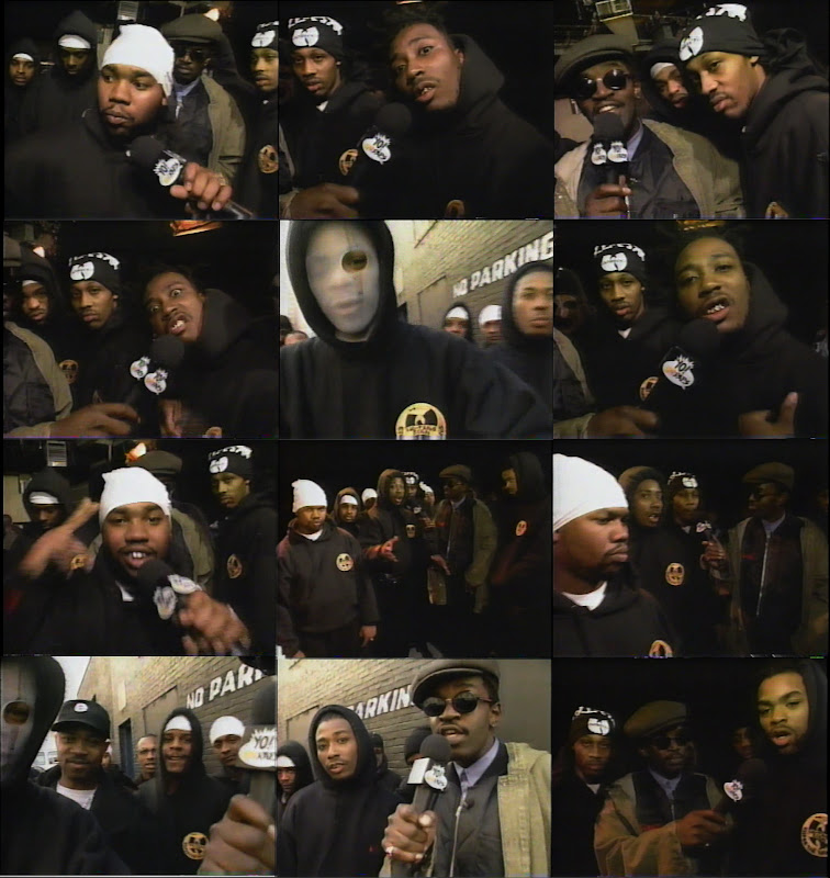 Wu Tang Clan At Da Mystery Of Chessboxin Video Shoot On Yo