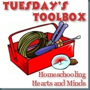 Tuesday's Toolbox button