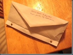 envelope file front