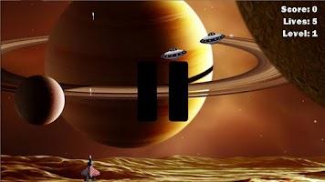 Screenshot of UFO Fighter