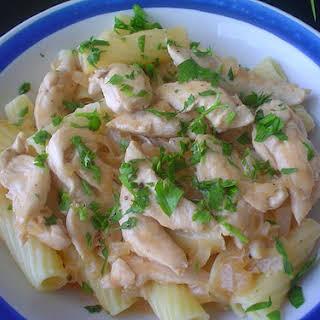 Swiss-style Chicken.
