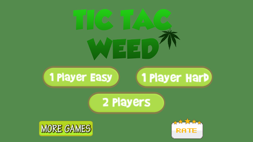 Tic Tac Toe Weed Edition