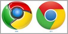 Novo Logo do Chrome 2011