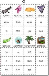 jogo das sílabas Q