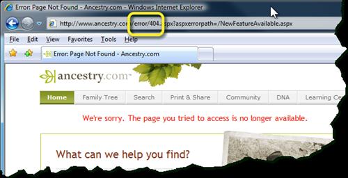 刷新胜利't work if 'error'存在于URL中