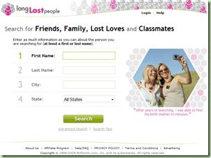 长期失去的人网站