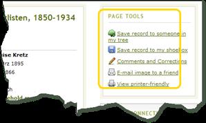 片段显示页面工具