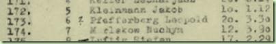 Leopold Pfefferberg,列表中的173号,为托马斯克切利提供了此副本
