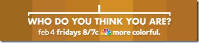 你认为你是谁,星期五在NBC
